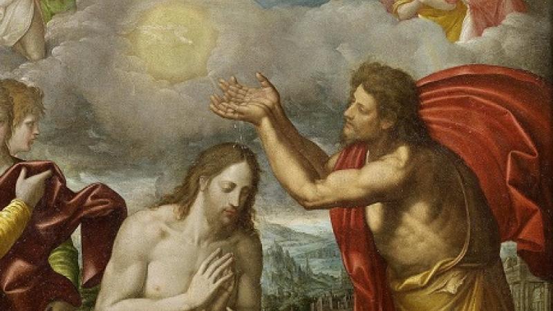 Juan Bautista y Jesús